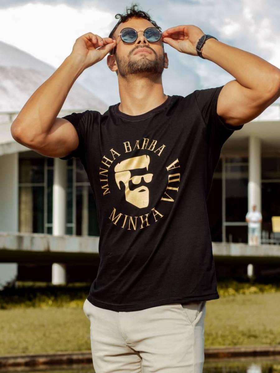 Camisetas BookBel Minha Barba Minha Vida