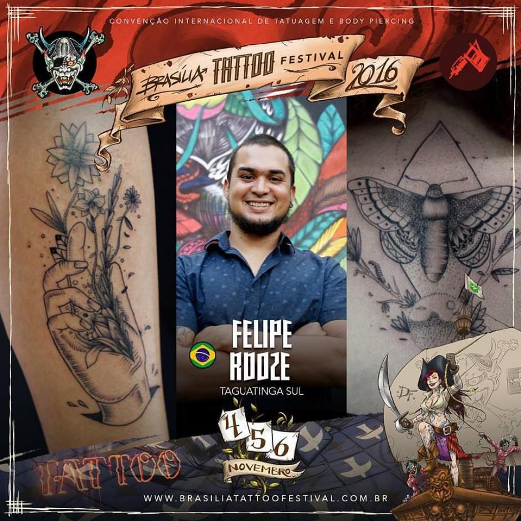 Felipe Rdoze Tattoo